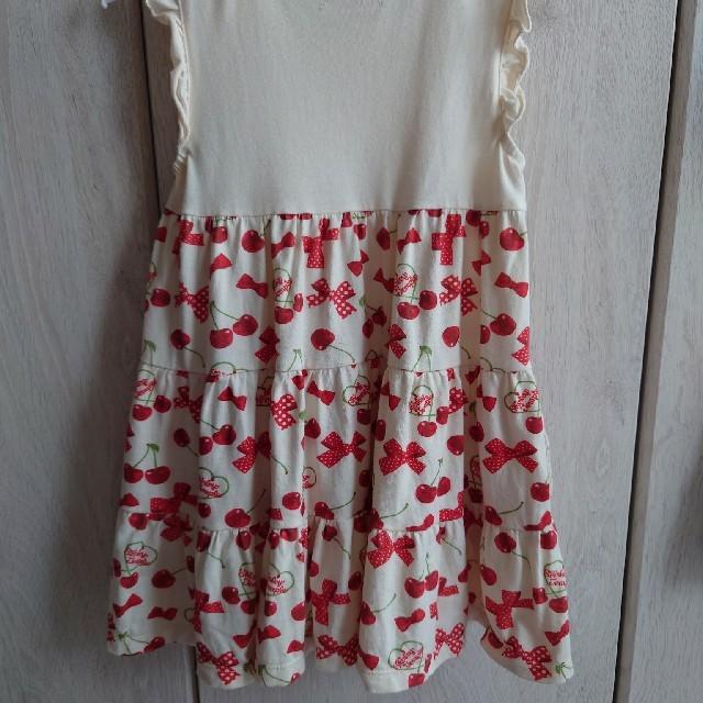 Shirley Temple(シャーリーテンプル)のシャーリーテンプルワンピース110cm キッズ/ベビー/マタニティのキッズ服女の子用(90cm~)(ワンピース)の商品写真