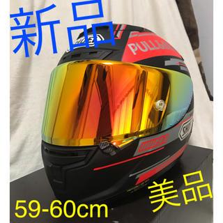 ショウエイシャ(翔泳社)のSHOEI マルケスモデル フルフェイス  ヘルメット 新品 (ヘルメット/シールド)