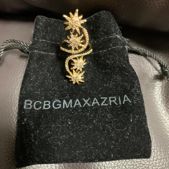 BCBGMAXAZRIA(ビーシービージーマックスアズリア)のBCBG キラキラストーンリング  レディースのアクセサリー(リング(指輪))の商品写真