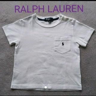 Ralph Lauren - RALPH LAUREN ホワイトTシャツ 90cm