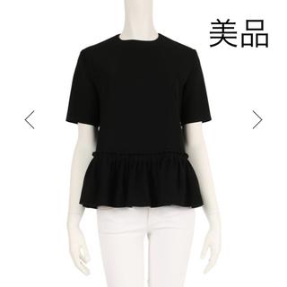 Drawer - 【美品】ヨーコチャン yoko chan  完売 ヘムギャザーブラウス トップス