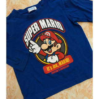 バンダイ(BANDAI)のマリオロンT(Tシャツ/カットソー)