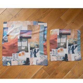 フィーニー(PHEENY)のPHEENY  Print chiffon scarf 新品未使 スカーフ(バンダナ/スカーフ)