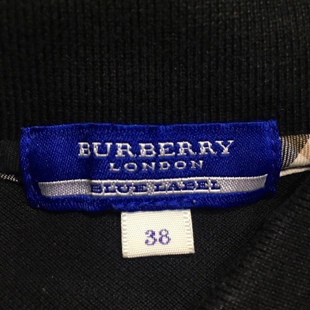 BURBERRY BLUE LABEL(バーバリーブルーレーベル)のburberryバーバリーブルーレーベル レディトップス黒 レディースのトップス(カットソー(半袖/袖なし))の商品写真