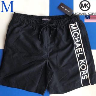Michael Kors - 【新品】MICHAEL KORS USA マイケルコース メンズ 水着 M 黒