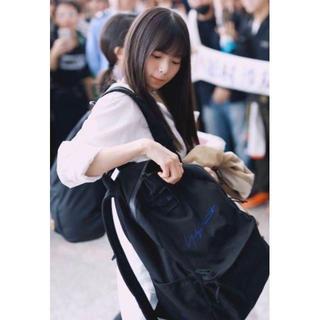 ヨウジヤマモト(Yohji Yamamoto)の斎藤飛鳥着用 yohji yamamoto new era リュック 24L(バッグパック/リュック)