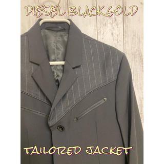 ディーゼル(DIESEL)のディーゼル ブラック ゴールド テーラードジャケット(テーラードジャケット)