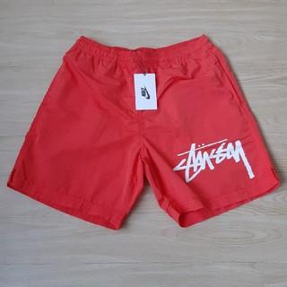 ステューシー(STUSSY)のNike × Stussy Water Short Red Sサイズ 新品 水着(水着)