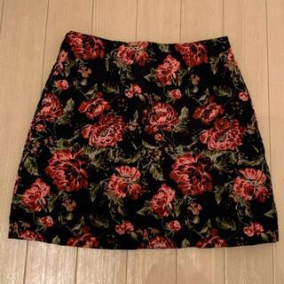 Lochie - 花柄台形スカート