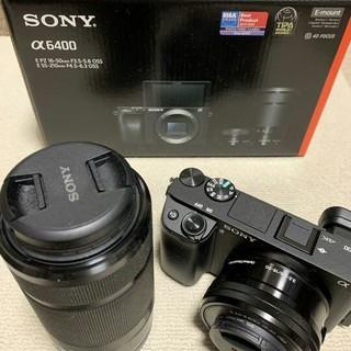 SONY - SONY α6400 ミラーレス一眼レフ