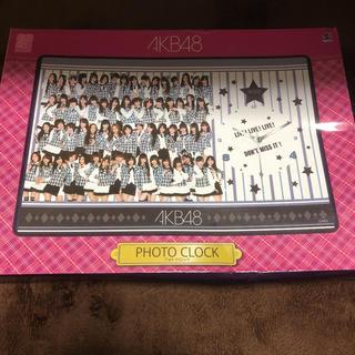 エーケービーフォーティーエイト(AKB48)のAKB48 PHOTO CLOCK フォトクロック 新品未使用(箱のみ状態悪)(アイドルグッズ)
