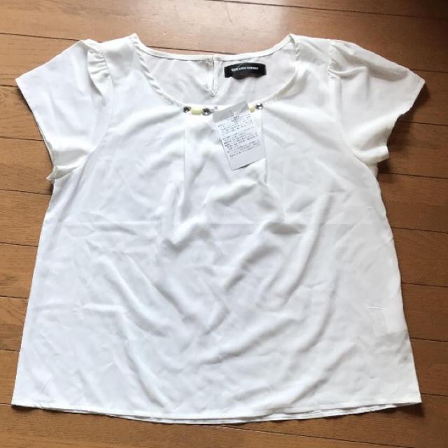 QUEENS COURT(クイーンズコート)の未使用 クイーンズコート トップス レディースのトップス(シャツ/ブラウス(半袖/袖なし))の商品写真