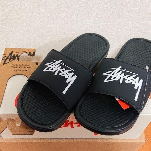 NIKE(ナイキ)の[新品未使用]STUSSY NIKE SLIDE SANDALS ステューシー メンズの靴/シューズ(サンダル)の商品写真
