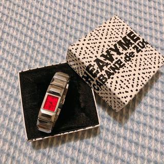 カバンドズッカ(CABANE de ZUCCa)のcabane de zucca 赤い時計(腕時計)