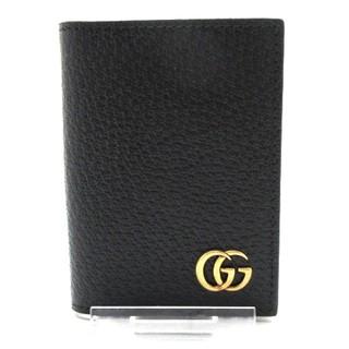 グッチ(Gucci)のグッチ 名刺入れ美品  GGマーモント 428737(名刺入れ/定期入れ)