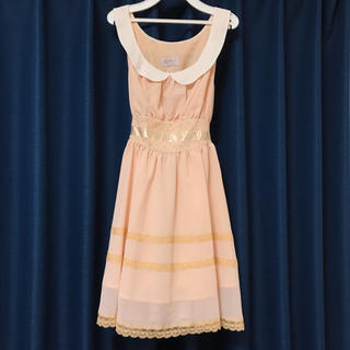 Katie - 【美品】Katie  Babypink Lace Dress