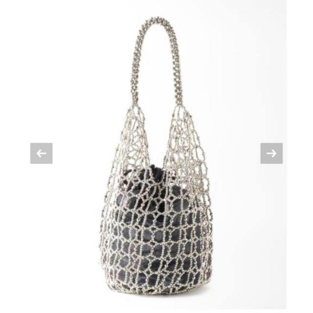 IENA(イエナ)のIENA 【ne Quittez pas】SMALL BEADS バッグ レディースのバッグ(ハンドバッグ)の商品写真