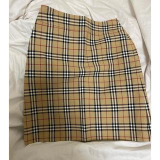 バーバリー(BURBERRY)のBURBERRY スカート(ひざ丈スカート)