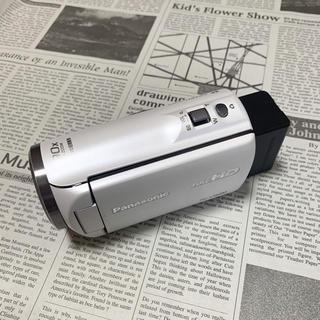 Panasonic - パナソニック HC-V360M (ホワイト) ビデオカメラ