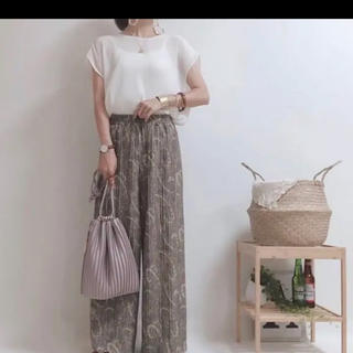 しまむら - 新品タグ付き  しまむらペイズリー柄パンツ M サイズ