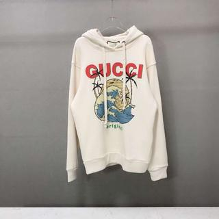 グッチ(Gucci)のGUCCI ◆ プリント コットンスウェットパーカー(パーカー)