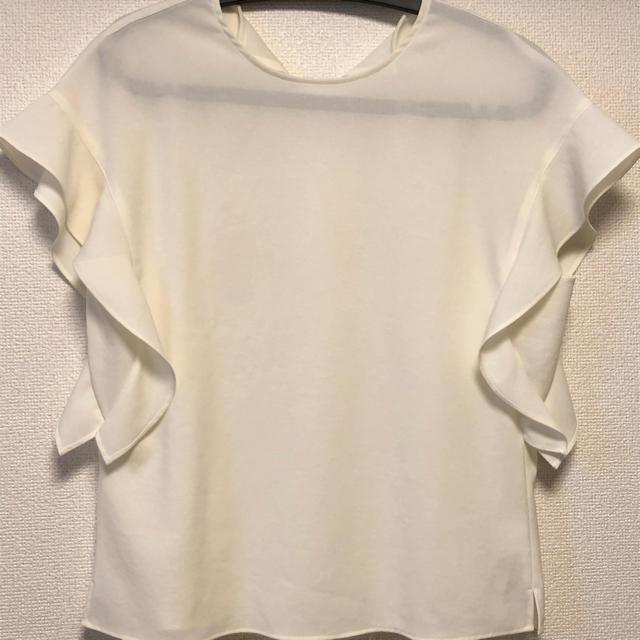Spick and Span(スピックアンドスパン)のスピックアンドスパン  ソデフレア フレンチドルマンブラウス レディースのトップス(シャツ/ブラウス(半袖/袖なし))の商品写真