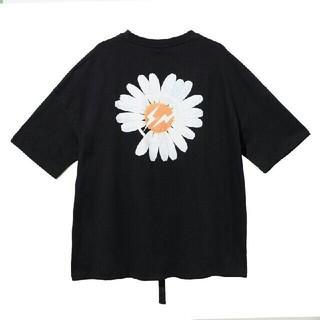 ピースマイナスワン(PEACEMINUSONE)の人気品PEACEMINUSONE ブラック Tシャツ メンズ(Tシャツ/カットソー(半袖/袖なし))