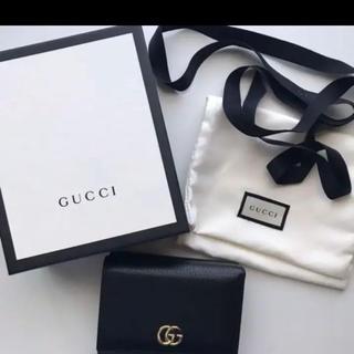 Gucci - GUCCIプチマーモント 三つ折り財布