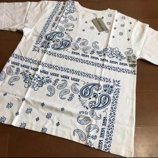 VANS - 新品 メンズ バンズ オーバーTシャツ ビッグTシャツ ペイズリー柄