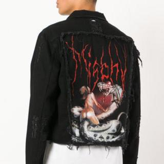 misbhv  denim jacket