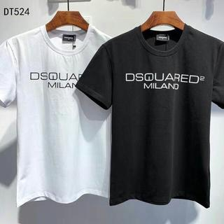 DSQUARED2 - DSQUARED2 Tシャツ ディースクエアード 丸襟 DT524