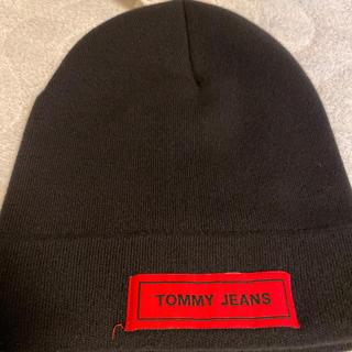 トミー(TOMMY)のTOMMYジーンズ ニット帽(ニット帽/ビーニー)