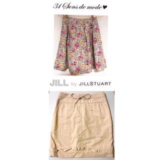 JILL by JILLSTUART - 美品トランテアンソンドゥモード花柄スカートジルバイジルスチュアートタイトスカート