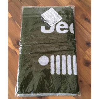 ジープ(Jeep)の【新品・未開封】JEEP ジープ オリジナル ノベルティ 今治フェイスタオル(ノベルティグッズ)