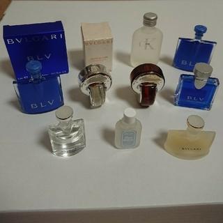 ブルガリ(BVLGARI)の香水 ミニボトル 9本セット  【GUCCIから箱付き】(ユニセックス)