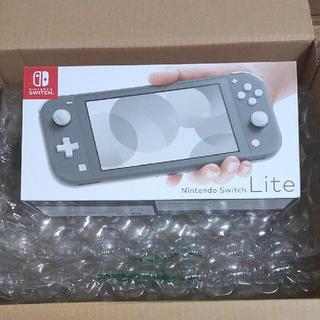Nintendo Switch - 新品 ニンテンドー スイッチライト グレー Switch  right 本体