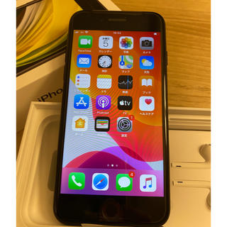 Apple - iPhoneSE2 64GB ブラック simフリー