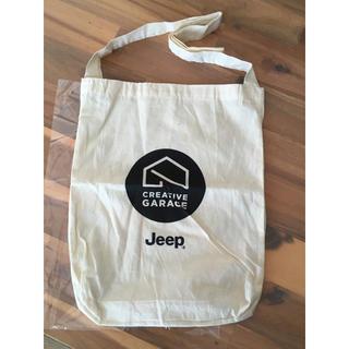 ジープ(Jeep)の【新品・未使用】JEEP ジープ ノベルティ2017グリーンルーム トートバッグ(ノベルティグッズ)