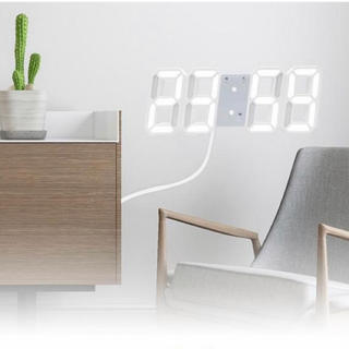 Francfranc - LEDデジタル時計 置時計 掛時計 8/7迄特別価格
