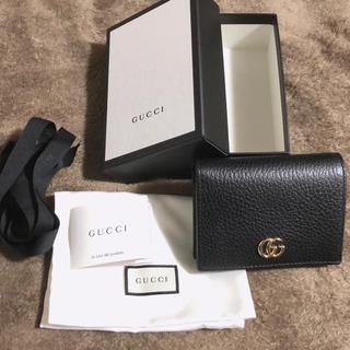 Gucci - GUCCI プチマーモント 二つ折り財布