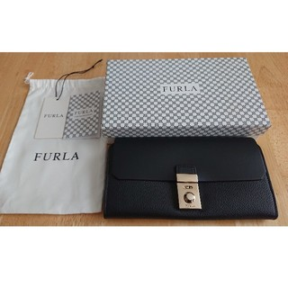 Furla - 【正規品・極美品】フルラ ミラノ 長財布 ブラック