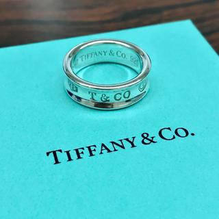 Tiffany & Co. - ティファニー 1837 ナロー リング 指輪 ワイド 14号 15号 925