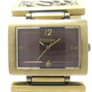 フォッシル(FOSSIL)のFOSSIL(フォッシル) 腕時計美品  - ES-1785(腕時計)