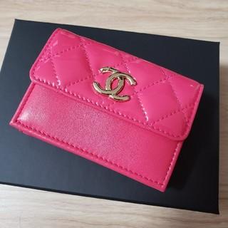 シャネル(CHANEL)の新品 CHANEL シャネル 3つ折り スモール ウォレット ミニ財布(折り財布)