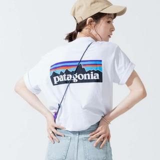 patagonia - 大人気完売サイズのpatagoniaTシャツホワイト