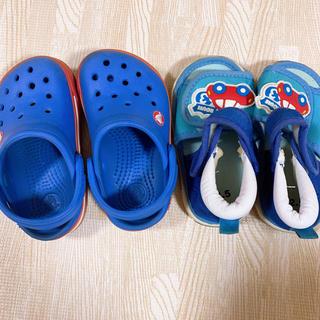 クロックス(crocs)のクロックス キッズサンダル まとめ売り(サンダル)