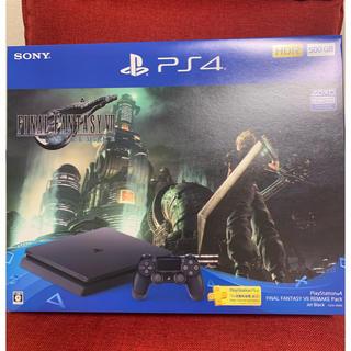 PlayStation4 - PlayStation4 FINAL FANTASY VII REMAKE 同梱