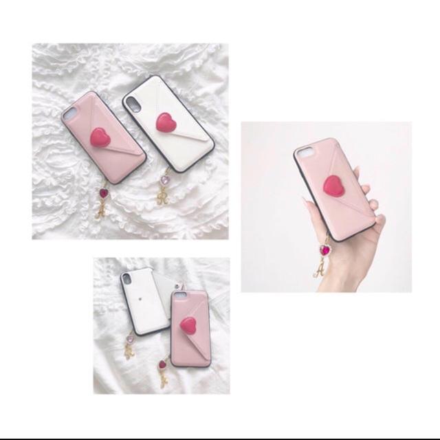 【かぜか様】8 (K) ピンク ハンドメイドのスマホケース/アクセサリー(スマホケース)の商品写真