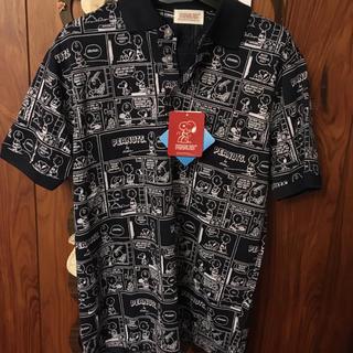 ピーナッツ(PEANUTS)のSNOOPY ポロシャツ 新品・タグ付き^_^週末お値下げ(ポロシャツ)