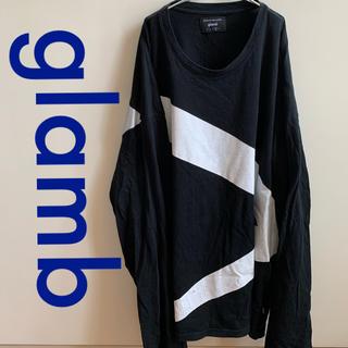 グラム(glamb)のglamb グラム クロスビッグカットソー サイズ3(Tシャツ/カットソー(七分/長袖))